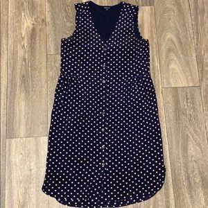 Madewell polka dot dress.